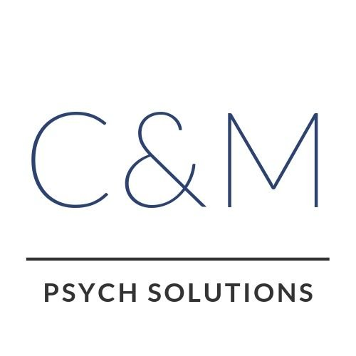 C&M Psych Solutions logo design